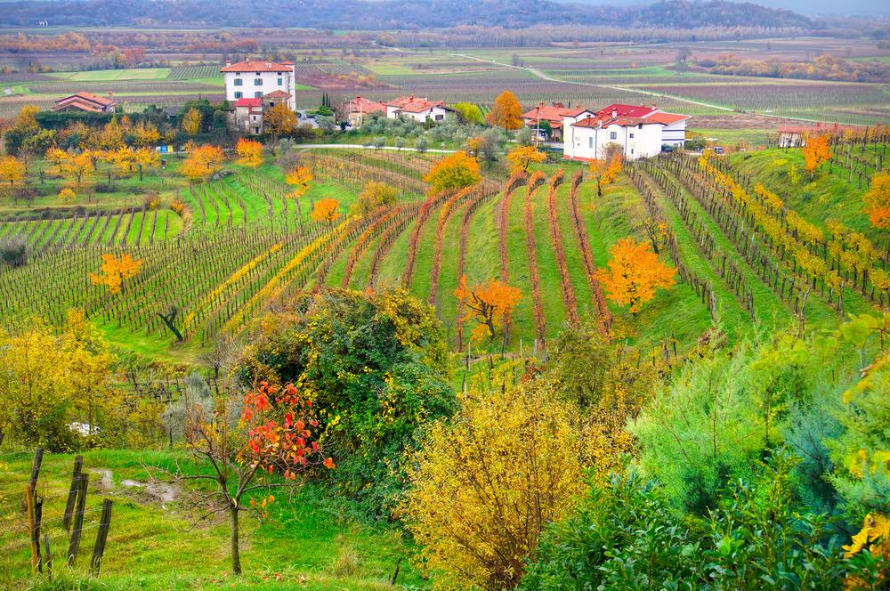 Paesaggio del Friuli Venezia Giulia